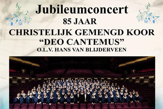 Jubileumconcert Deo Cantemus